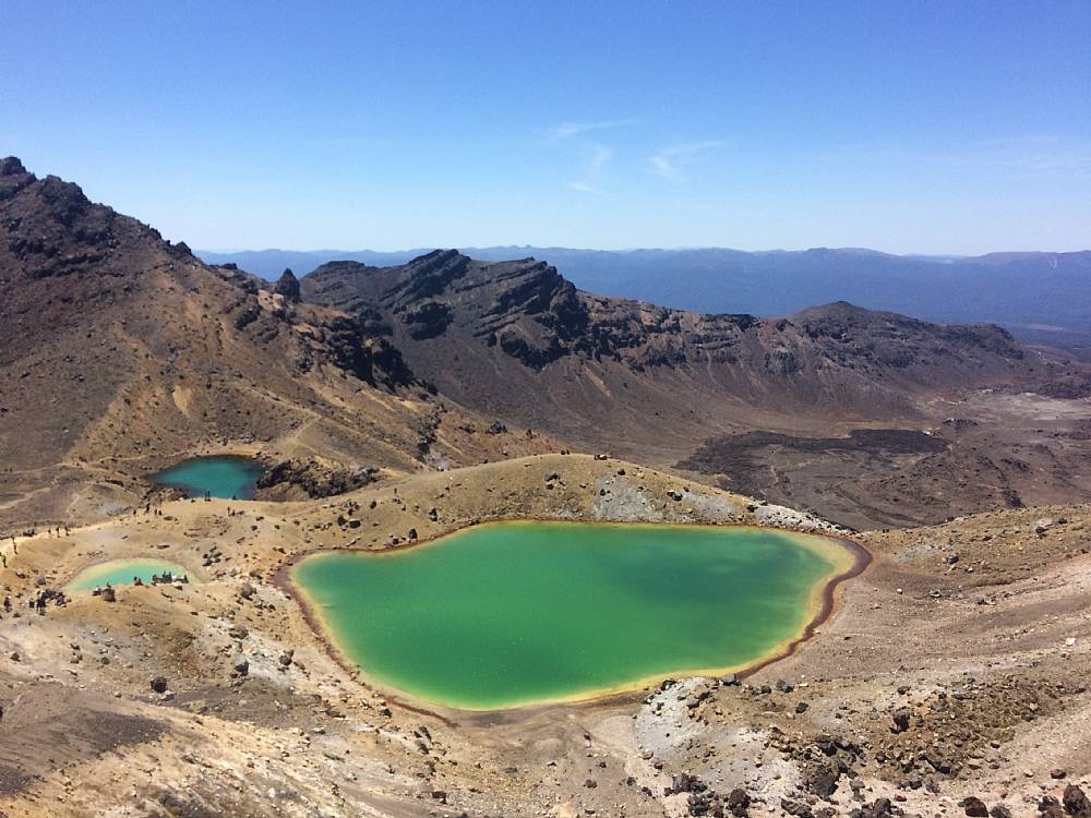 Hiking i Tongariro Crossing