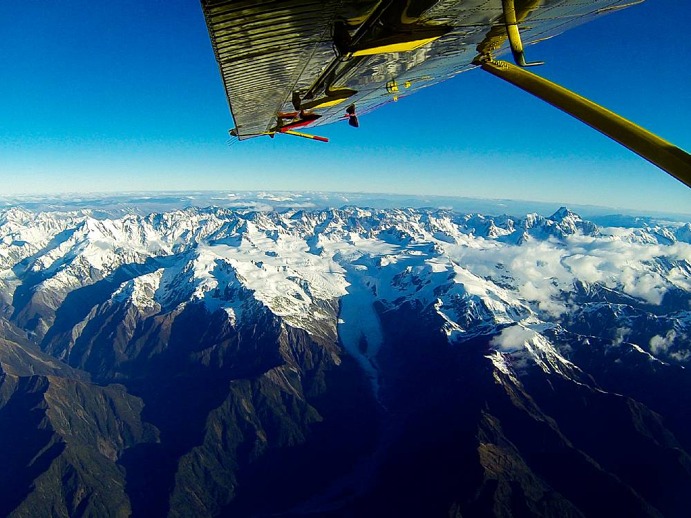 Skydiving i Queenstown