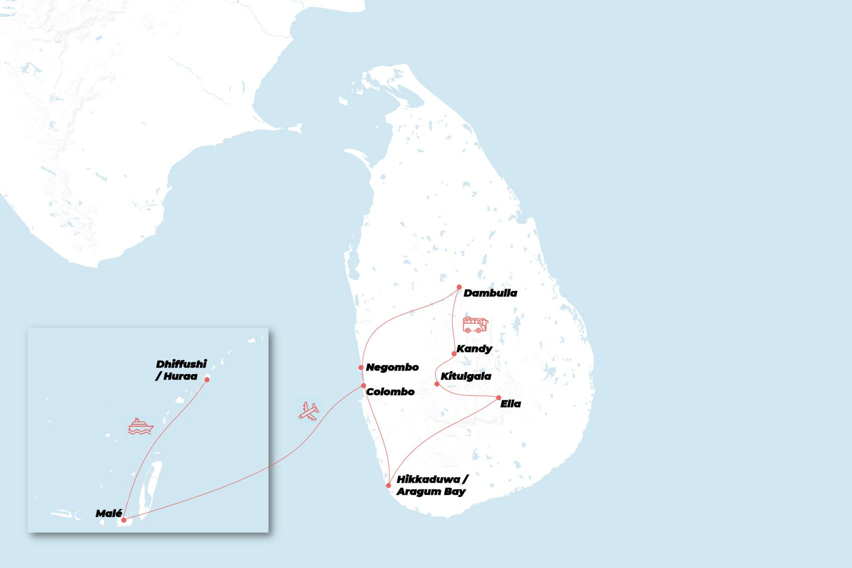 Sri Lanka Maldiverne Grupperejser For Unge