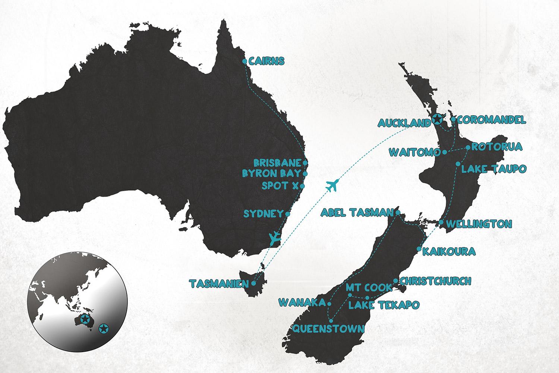 Tasmanien Australien New Zealand